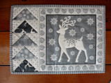 Scandi Placemats for 8 - Silver