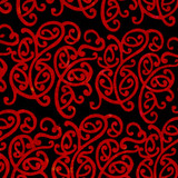 NZ SWIRL - RED 1/2 Metre Length