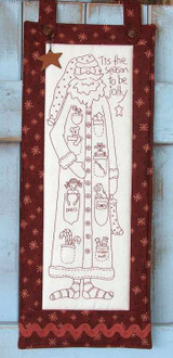 Jolly Santa - Natalie Bird Stitcheries