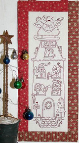 Santa's Workshop - Natalie Bird Stitcheries