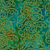 NZ SWIRL - PACIFIC 1/2 Metre Length