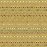 Song Design Green - On the 12th day Collection - 1/2 metre length
