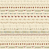 Song Design Cream - On the 12th day Collection - 1/2 metre length