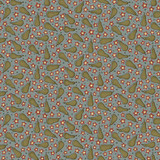 Pears Blue - On the 12th day Collection - 1/2 metre length