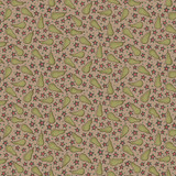 Pears Taupe - On the 12th day Collection - 1/2 metre length