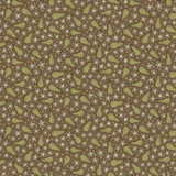 Pears Brown - On the 12th day Collection - 1/2 metre length