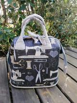 """Mini Poppins Bag 9""""x7""""x7"""" - sewing pattern"""