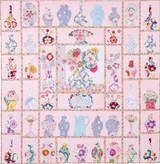 "China Shop Kitset 84"" x 82"" in Kaffe Fassett fabrics  - Cushla's SPECIAL  includes the pattern printout"