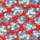Bouquet Red | Good Times by American Jane | per 1/2 metre