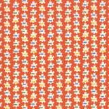 Popcorn Prezzy Orange   Good Times by American Jane   per 1/2 metre