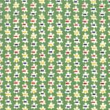 Popcorn Prezzy Green   Good Times by American Jane   per 1/2 metre