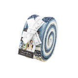 Jelly Roll | The Blues by Janet Clare, Moda | 1/2 metre length