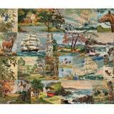 Paint by Number Moxie | Flea Market mix by Cathe Holden | per 1/2 metre
