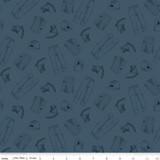 CAT® Garb Blue | Riley Blake Designs | per 1/2 metre