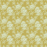 Flower Bush Green | Tilda Harvest | per 1/2 metre