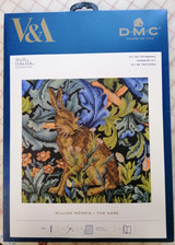 V&A William Morris - The Hare  Cross stitch kit