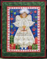 "Angel  Advent Calendar 27 1/2"" x 35"""