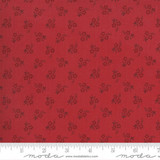 French General  Tulleries - Rouge - per half metre length