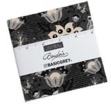 Basic Grey - Boudoir 5in Charm pack 42x squares