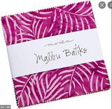 Malibu Batiks 5in Charm Pack 40x Squares