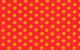 Spots Red   1/2 Metre Length