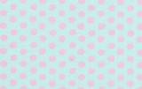 Spots Soft Blue   1/2 Metre Length