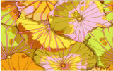 YELLOW Lotus Leaf Kaffe Classics  1/2 Metre Length