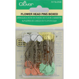 Flower Head Pins  Clover 2506 -  0.7mm x L5.4mm sharp