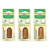 Natural Fit Leather Thimbles