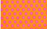 KF Classics - Spot - Peach  1/2 Metre Length