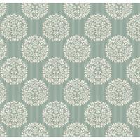 Tilda Spring Lake Fabric - Flower Ball Teal 1/2 Metre Length