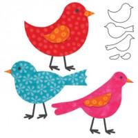 55324 - AccuQuilt Die -  Birds