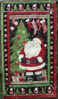Debbie Mumm Santa Wallhanging