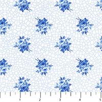 Porcelain Blue 06 1/2 Metre Length