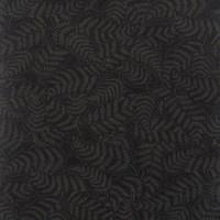 Fern Colour 2 Charcoal / Black  1/2 Metre Length