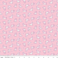 Strawberry Biscuit - Poodle Pink 1/2 Metre Length