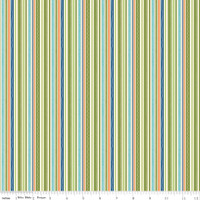 ROAD STRIPE GREEN 1/2 Metre Length