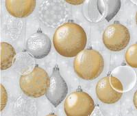 Champagne Decoration -  Robert Kaufman Winters Grandeur
