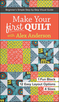 Make your first quilt with  Alex Anderson -spiral
