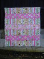 "Pink Spice Quilt Kitset 58"" x 60"""