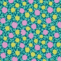 Simply Bold Floral - River - PWAB167 - 1/2 Metre Length