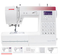 Janome New Model SEWIST 740DC