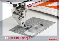 Professional Grade Needleplate, HP Foot and HP2 Foot