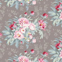 Hazel Grey - Tilda Woodland collection - 1/2 metre length