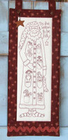 Jolly Santa - Natalie Bird Stitcheries