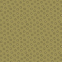 Stars Green - On the 12th day Collection - 1/2 metre length