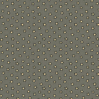 Stars Blue - On the 12th day Collection - 1/2 metre length