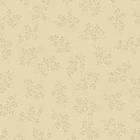 Beige sprig on beige | Blue Sky Collection | Laundry Basket Quilts by Edytar Sitar | 1/2 metre length