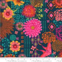 Kasada  Bazaar Teal | by Crystal Manning | per 1/2 metre length