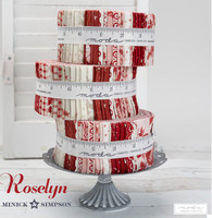 """Roselyn  2 1/2"""" Jelly Roll - by Minick Simpson"""